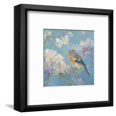 Birds in Blossom - Detail II-Sarah Simpson-Framed Art Print