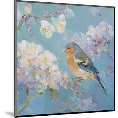 Birds in Blossom - Detail II-Sarah Simpson-Mounted Art Print