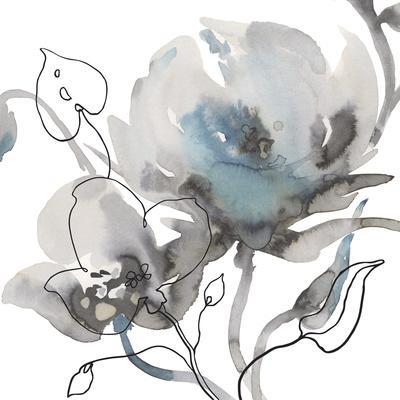 Winter Floral Illustrated II-Sandra Jacobs-Framed Giclee Print