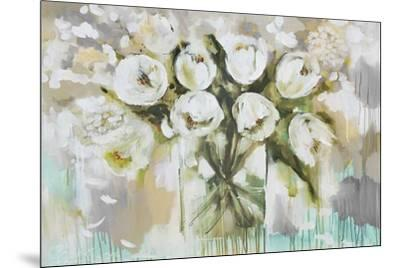 Pure Blanc Tulipa-Amanda J^ Brooks-Mounted Art Print