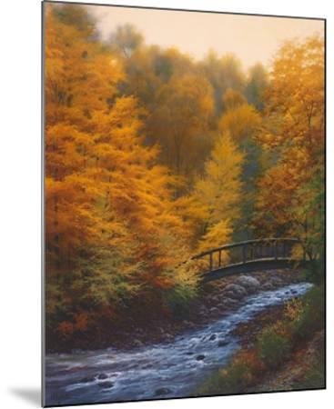 Autumn Stream-Charles White-Mounted Art Print