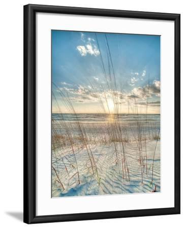 Among the Grass-Robert Jones-Framed Art Print