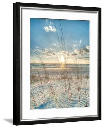 Among the Grass-Robert Jones-Framed Art Print