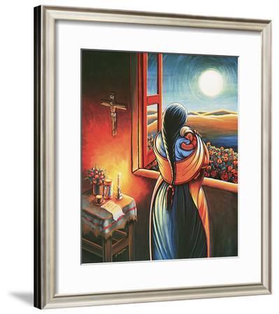 Amor a Todas Horas-Simon Silva-Framed Art Print