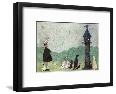 An Audience with Sweetheart-Sam Toft-Framed Art Print