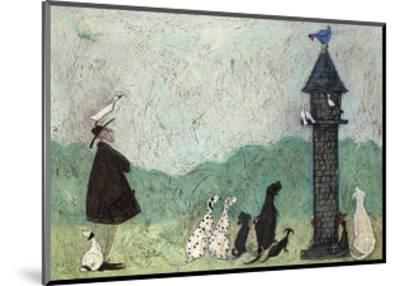 An Audience with Sweetheart-Sam Toft-Mounted Art Print