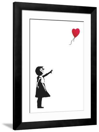 Balloon Girl Art Print by Banksy   Art.com