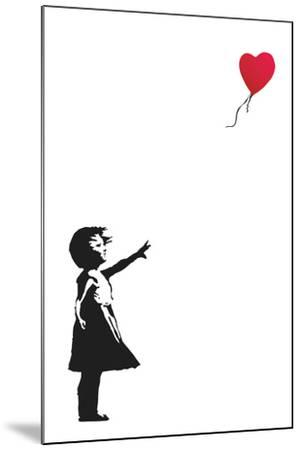 Balloon Girl-Banksy-Mounted Art Print