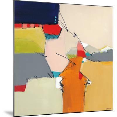 Beachcomber II-Joe DiGiulio-Mounted Art Print