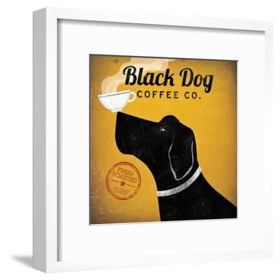 Black Dog Coffee Co.-Ryan Fowler-Framed Art Print
