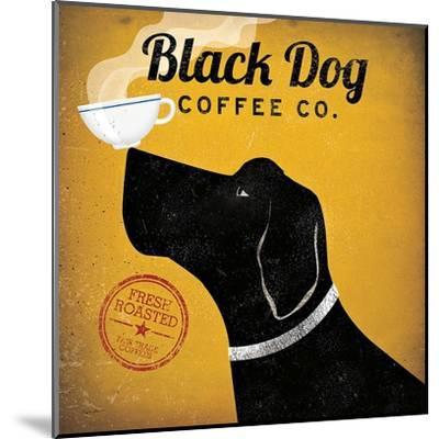 Black Dog Coffee Co.-Ryan Fowler-Mounted Art Print