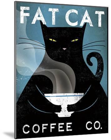 Cat Coffee Co.-Ryan Fowler-Mounted Art Print