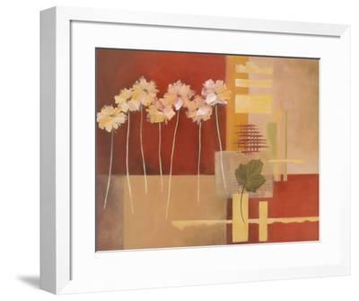 Contemporary Crimson I-Carol Robinson-Framed Art Print