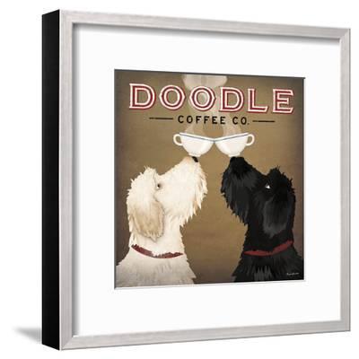 Doodle Coffee Double IV-Ryan Fowler-Framed Art Print