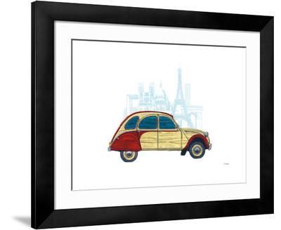 CV Paris-Barry Goodman-Framed Art Print