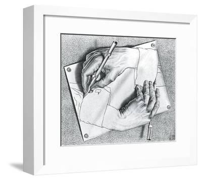 Drawing Hands-M^ C^ Escher-Framed Art Print
