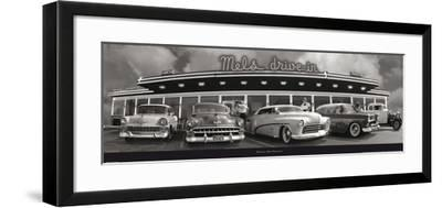 Drive-in San Francisco (Mel's)-Unknown-Framed Art Print