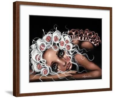 Dryin' the Dishes-Angelina Wrona-Framed Art Print