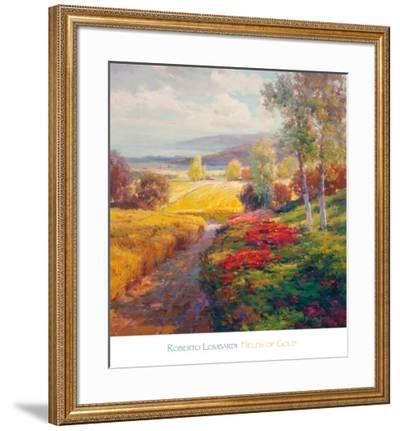 Fields of Gold-Roberto Lombardi-Framed Art Print