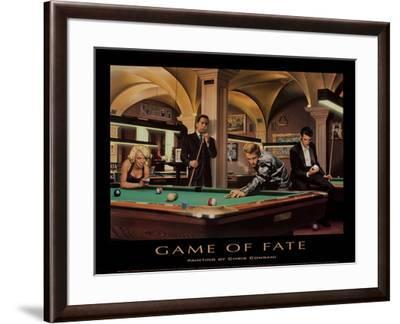 Game of Fate-Chris Consani-Framed Art Print