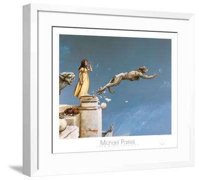 Gargoyles-Michael Parkes-Framed Art Print
