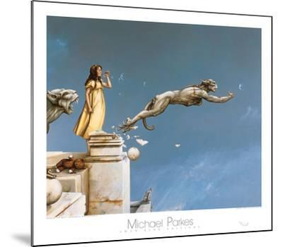 Gargoyles-Michael Parkes-Mounted Art Print