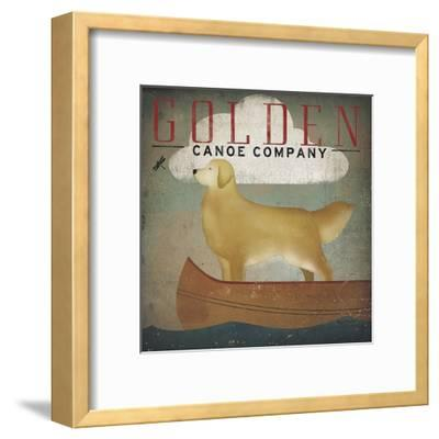 Golden Dog Canoe Co.-Ryan Fowler-Framed Art Print