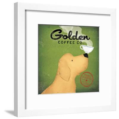 Golden Dog Coffee Co.-Ryan Fowler-Framed Art Print