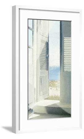 Grey Doors-Noah Bay-Framed Art Print