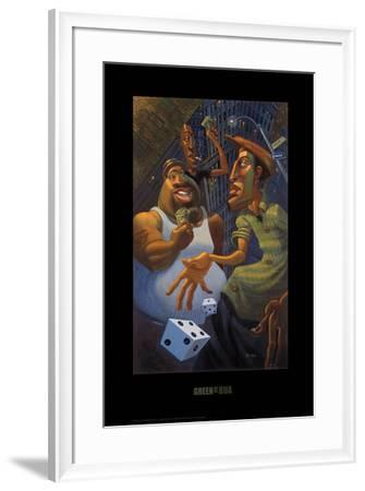 Green Street-BUA-Framed Art Print