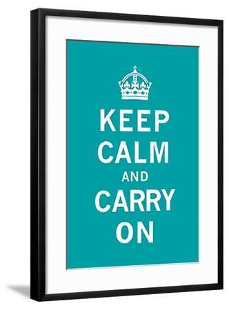 Keep Calm and Carry On-Unknown-Framed Art Print