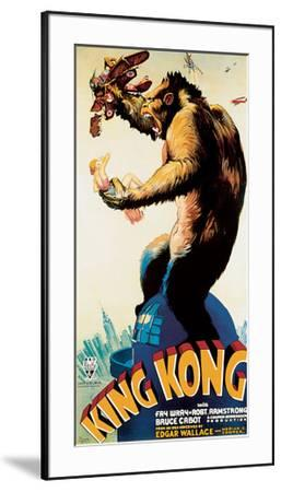King Kong – Profile-Unknown-Framed Oversized Art Print
