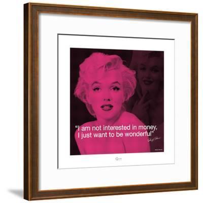Marilyn Monroe – Wonderful-Milton Greene-Framed Art Print