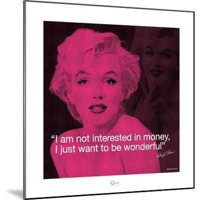 Marilyn Monroe – Wonderful-Milton Greene-Mounted Art Print