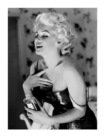 Marilyn Monroe, Chanel No. 5-Ed Feingersh-Framed Art Print