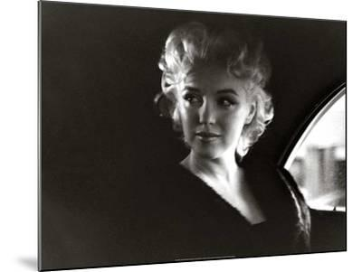 Marilyn-Unknown-Mounted Art Print