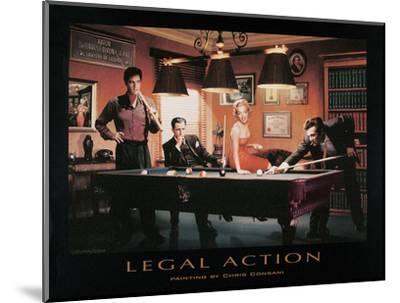 Legal Action-Chris Consani-Mounted Art Print