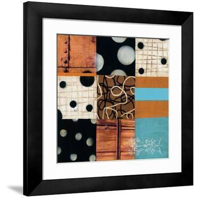 Mosaic I-Anka-Framed Art Print