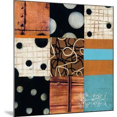Mosaic I-Anka-Mounted Art Print