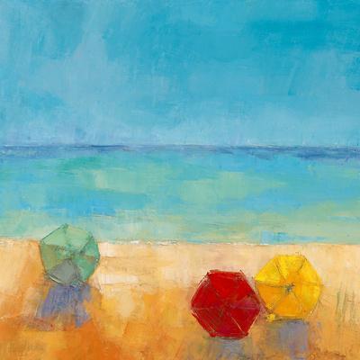 Parasols I-Regine Pivier-Attolini-Framed Art Print