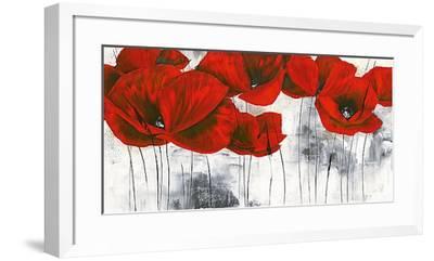 Pavot d'Hiver III-Isabelle Zacher-finet-Framed Art Print