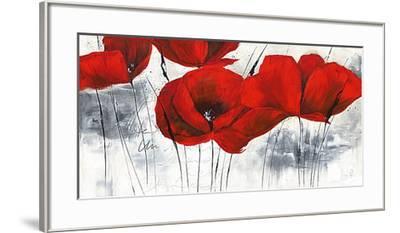 Pavot d'Hiver IV-Isabelle Zacher-finet-Framed Art Print