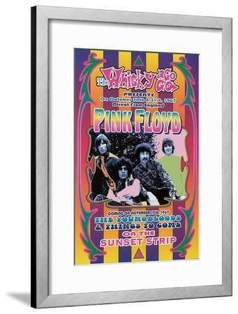 Pink Floyd, 1967-Dennis Loren-Framed Art Print