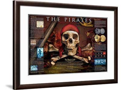 Pirates-Unknown-Framed Art Print