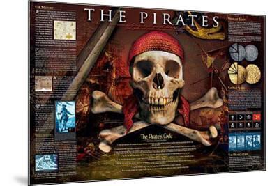 Pirates-Unknown-Mounted Art Print