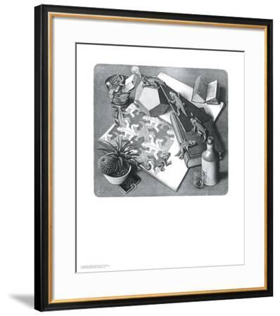 Reptiles-M^ C^ Escher-Framed Art Print