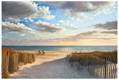 Sunset Beach-Daniel Pollera-Art Print