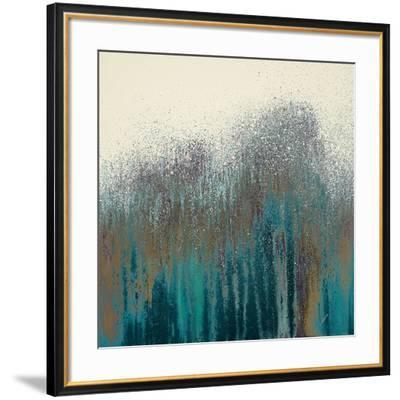 Teal Woods-Roberto Gonzalez-Framed Art Print