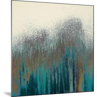 Teal Woods-Roberto Gonzalez-Mounted Art Print