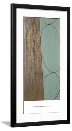 Third Journey 7-Marilu Datoli Hartnett-Framed Art Print